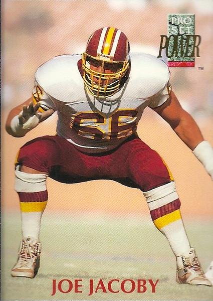 Joe Jacoby 1992 Power
