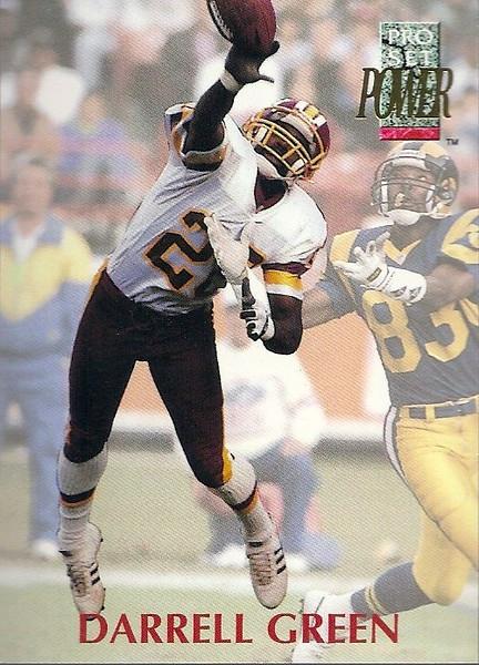 Darrell Green 1992 Power