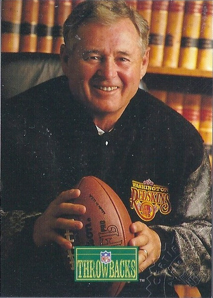 Eddie LeBaron 1992 Pro Line Portraits Autographs
