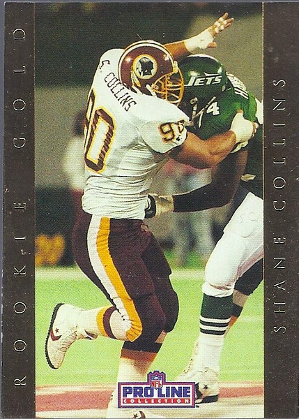 Shane Collins Rookie Gold 1992 Pro Line Portraits