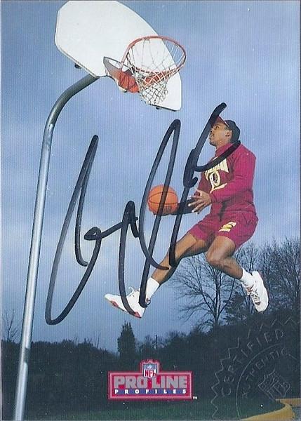 #7 Gary Clark 1992 Pro Line Profiles Autographs