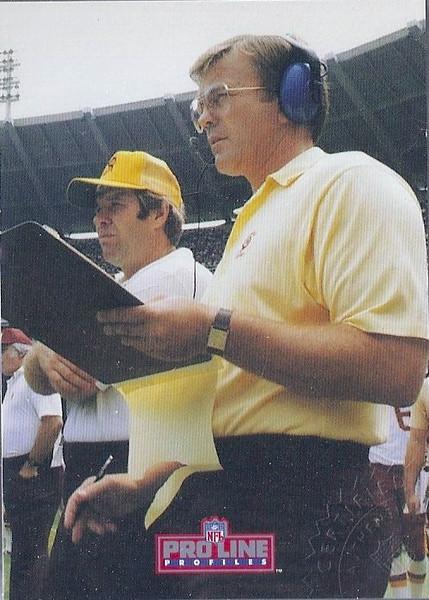 #3 Joe Gibbs 1992 Pro Line Profiles Autographs