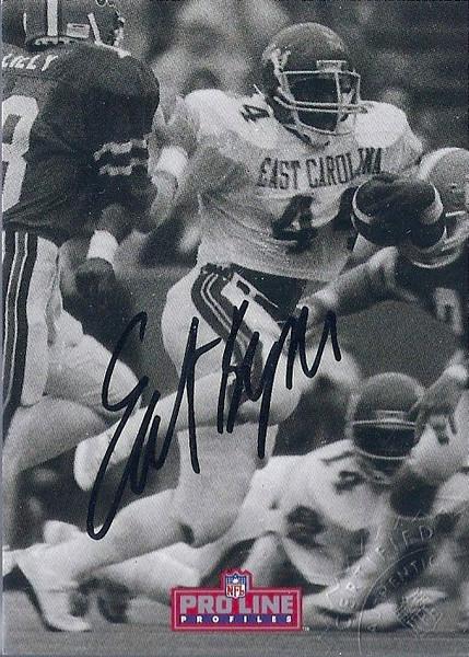 #2 Earnest Byner 1992 Pro Line Profiles Autographs