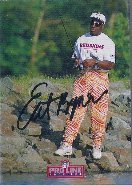#7 Earnest Byner 1992 Pro Line Profiles Autographs