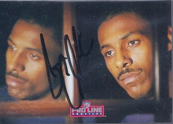 #9 Gary Clark 1992 Pro Line Profiles Autographs