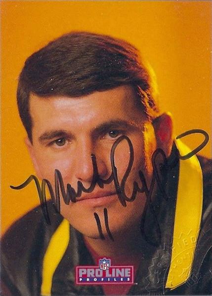 #9 Mark Rypien 1992 Pro Line Profiles Autographs