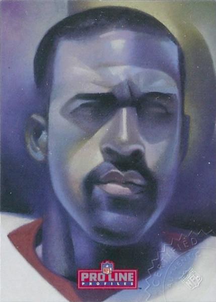 #5 Art Monk 1992 Pro Line Profiles Autographs