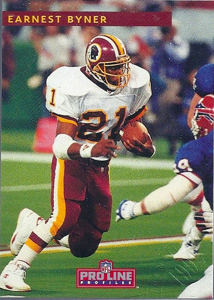 #1 Earnest Byner 1992 Pro Line Profiles National Convention