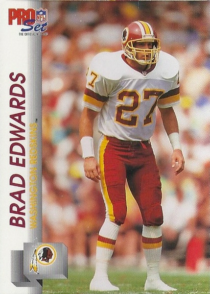 Brad Edwards 1992 Pro Set