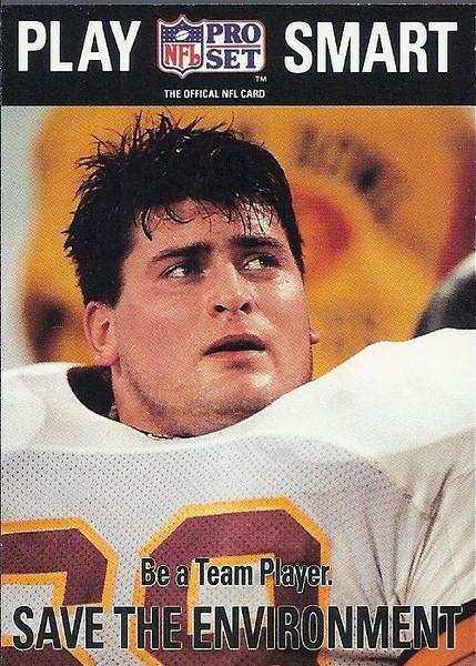 Mark Schlereth Play Smart 1992 Pro Set
