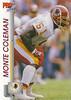 Monte Coleman 1992 Pro Set