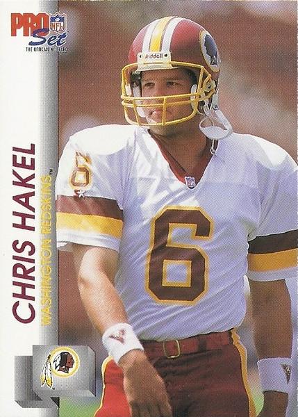 Chris Hakel 1992 Pro Set
