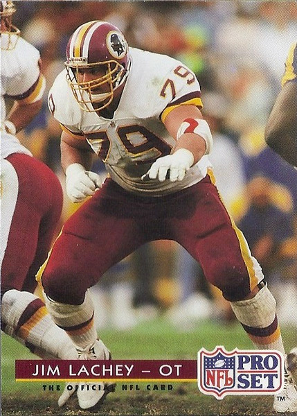 Jim Lachey 1992 Pro Set
