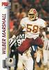 Wilber Marshall 1992 Pro Set
