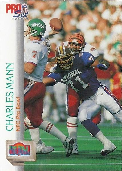 Charles Mann Pro Bowl 1992 Pro Set