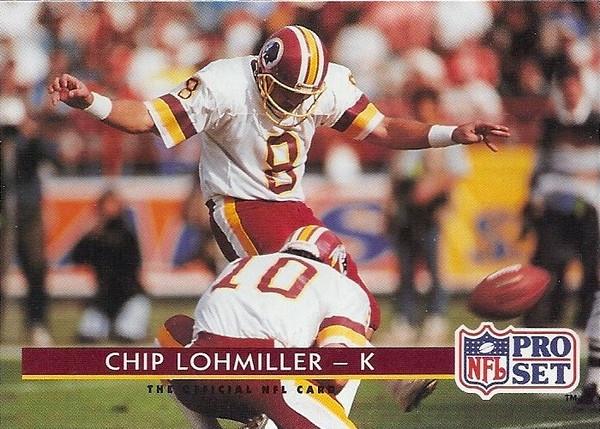 Chip Lohmiller 1992 Pro Set