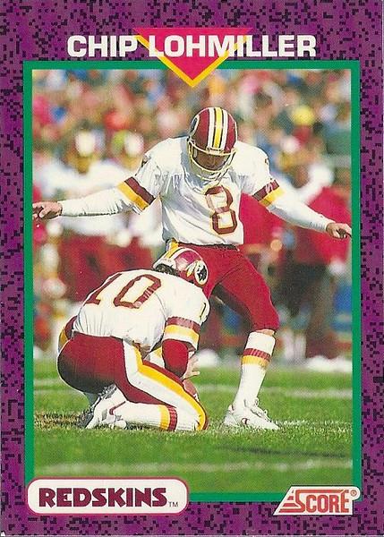Chip Lohmiller 1992 Score
