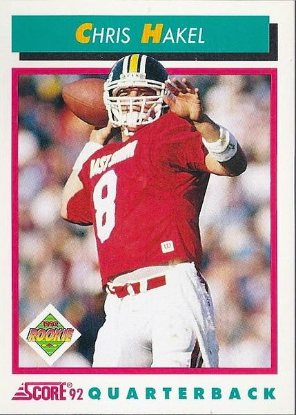 Chris Hakel 1992 Score