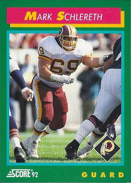 Mark Schlereth 1992 Score