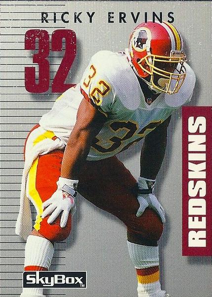 Ricky Ervins 1992 SkyBox PrimeTime