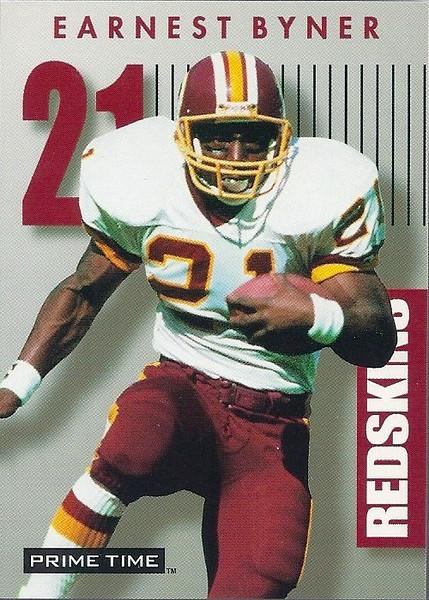 Earnest Byner Super Bowl XXVI PROMO 1992 SkyBox PrimeTime