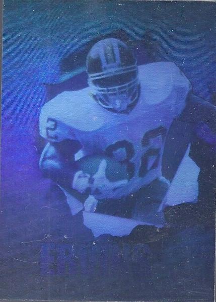 Ricky Ervins Hologram 1992 SkyBox PrimeTime