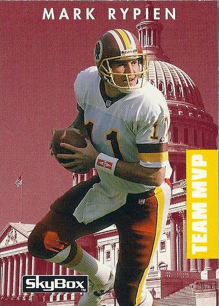 Mark Rypien Team MVP 1992 SkyBox PrimeTime