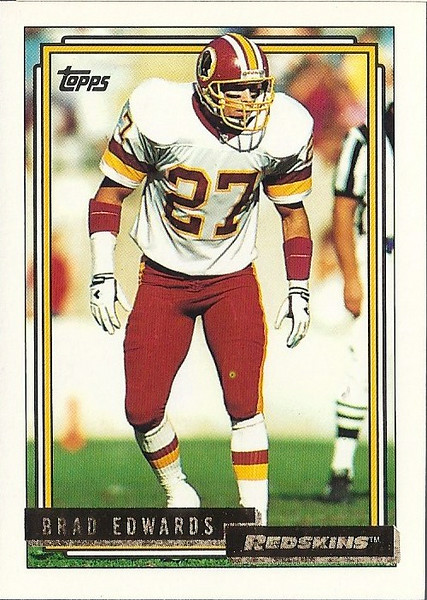 Brad Edwards 1992 Topps Gold