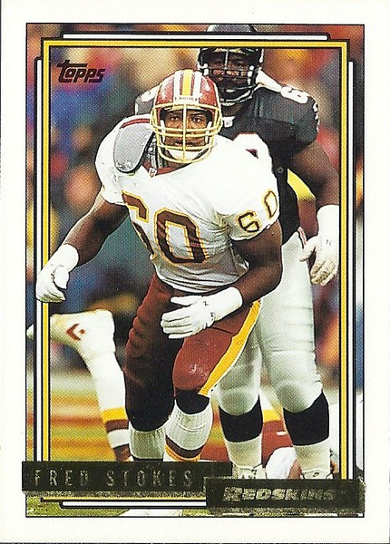 Fred Stokes 1992 Topps Gold