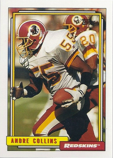 Andre Collins 1992 Topps