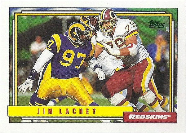 Jim Lachey 1992 Topps