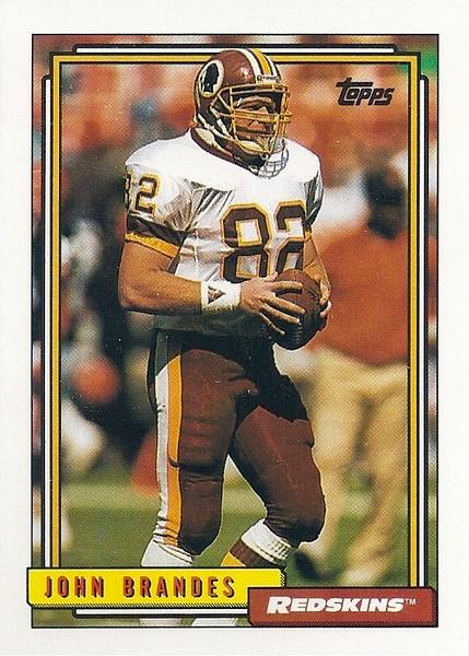 John Brandes 1992 Topps