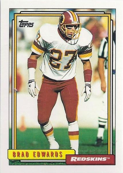 Brad Edwards 1992 Topps