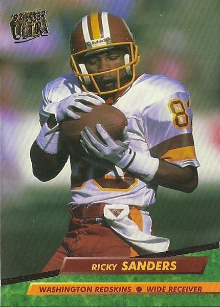 Ricky Sanders 1992 Ultra