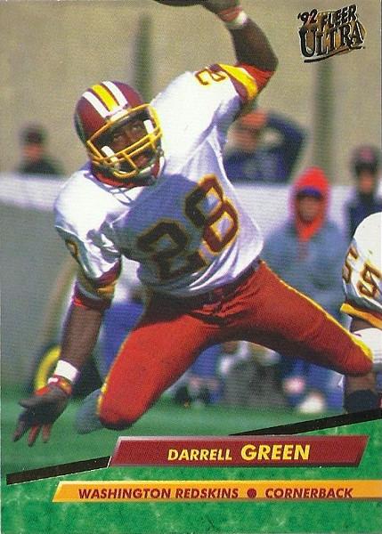 Darrell Green 1992 Ultra