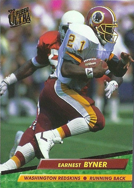 Earnest Byner 1992 Ultra