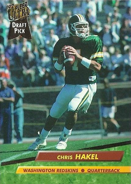 Chris Hakel 1992 Ultra