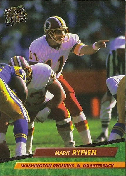 Mark Rypien 1992 Ultra