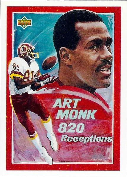 Art Monk Highlights 1992 Upper Deck