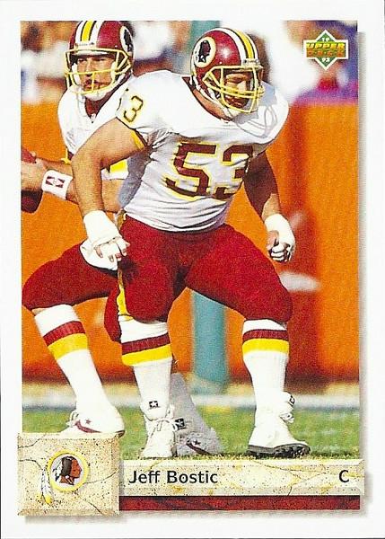 Jeff Bostic 1992 Upper Deck