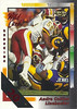 Andre Collins 1992 Wild Card 20 Stripe