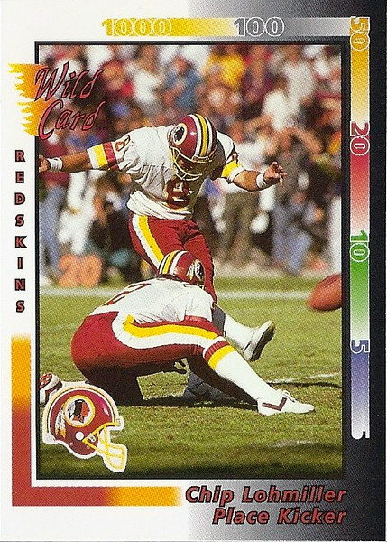 Chip Lohmiller 1992 Wild Card