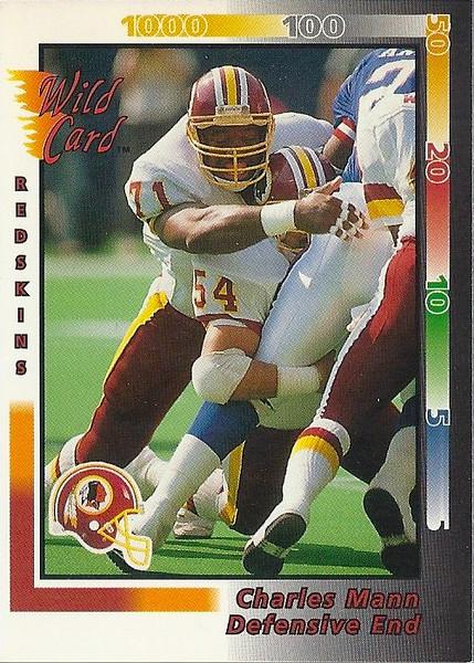 Charles Mann 1992 Wild Card