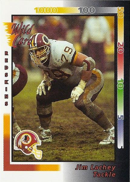Jim Lachey 1992 Wild Card