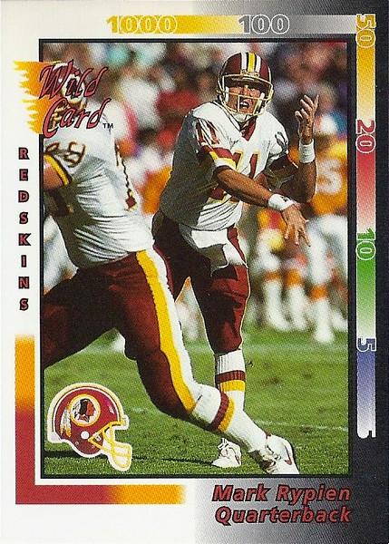 Mark Rypien 1992 Wild Card