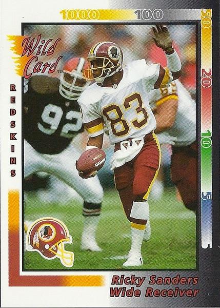 Ricky Sanders 1992 Wild Card
