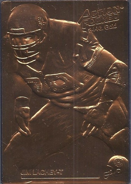 Jim Lachey 1992 Action Packed Mint Parallel