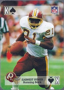 Earnest Byner 1992 Sports Deck Prototype King