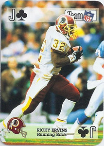 1992 Sports Decks Ricky Ervins