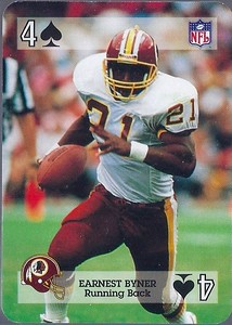 Earnest Byner 1992 Sports Deck Prototype 4